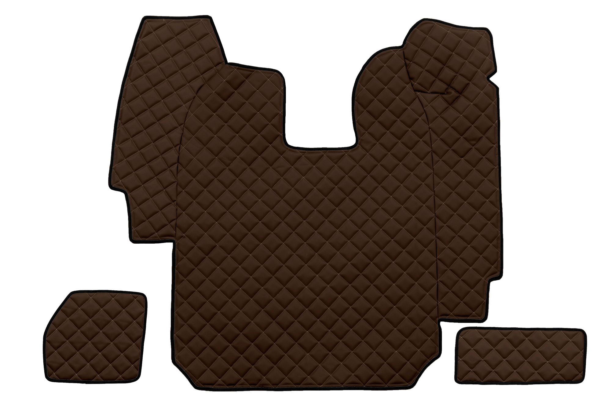 Fl03 Full Coverage Floor Mats Eco Leather Scania R