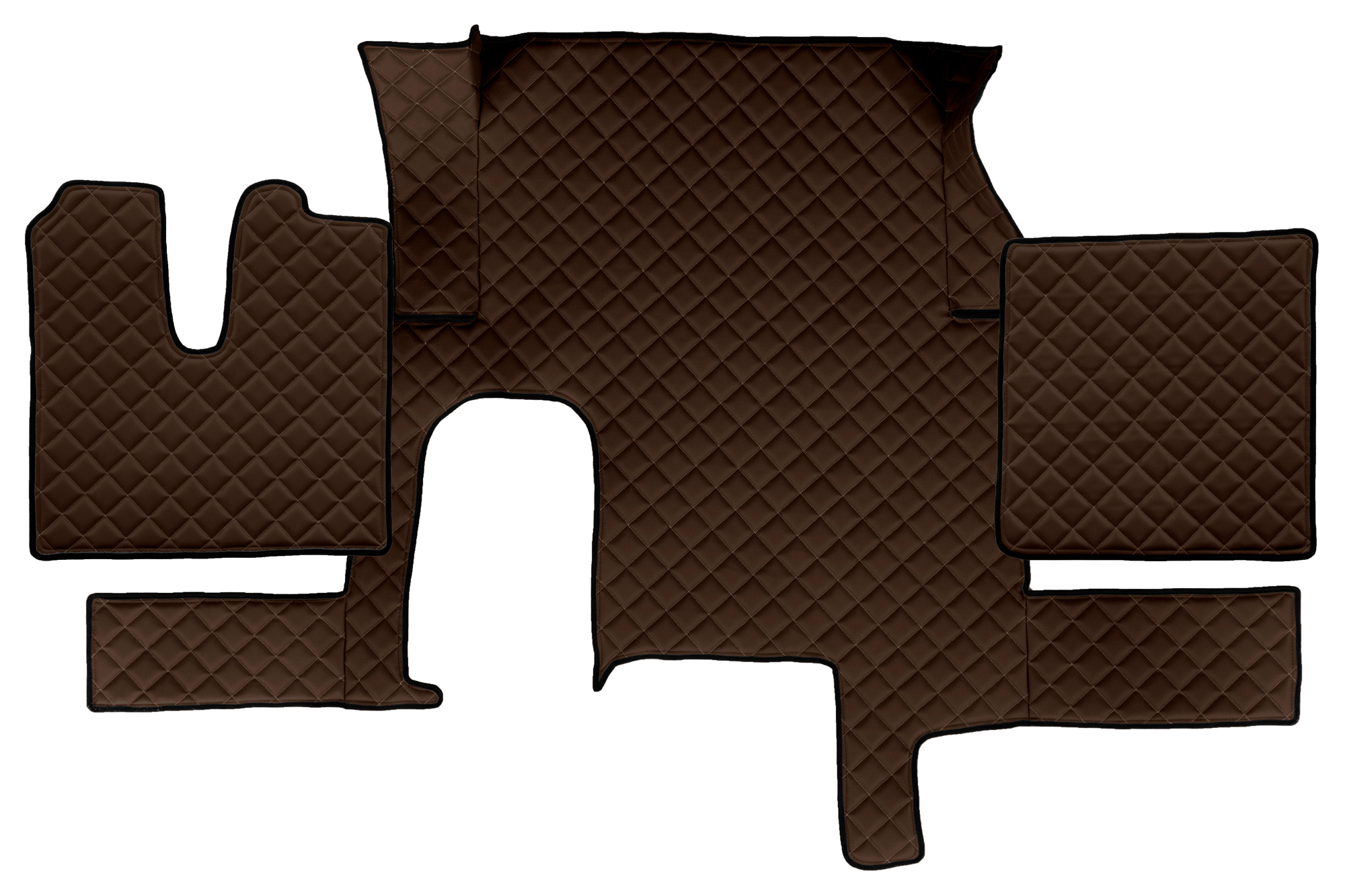 Fl29 Full Coverage Floor Mats Eco Leather Man Tgx