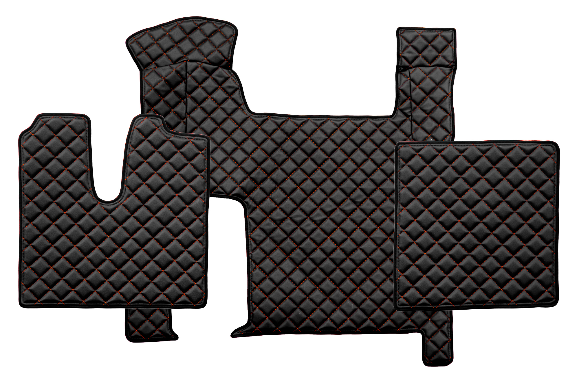 Fl06 Full Coverage Floor Mats Eco Leather Man Tgx